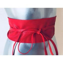 Ceinture rouge kimono