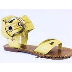 Sandales LPB jaune