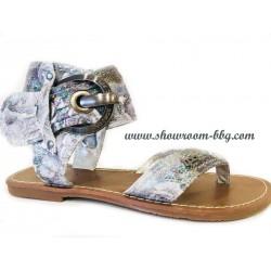 Sandales LPB F.gris