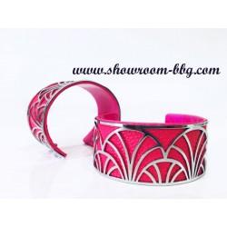 Bracelet Brigitte fushia