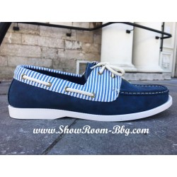 Chaussures bateau marine
