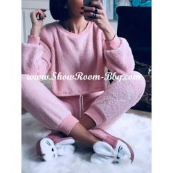 Pyjama pilou rose