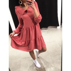 Robe Claudine rose