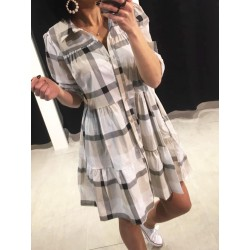 Robe Fifi à carreaux