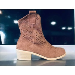 Bottines camel Tennesse