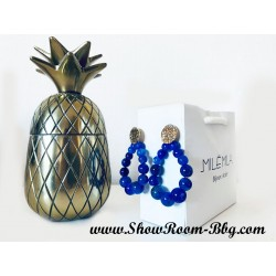 Boucles Salomé bleu