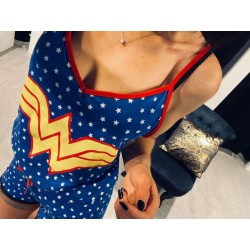 Pyjama Wonder Woman